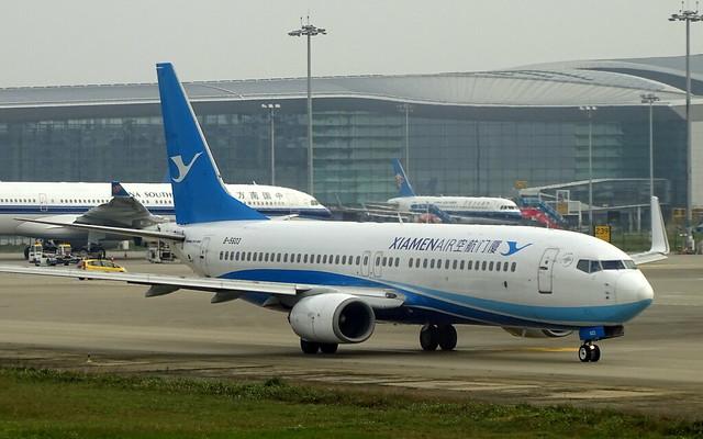 Xiamen Airlines Boeing 737-800 B-5603