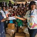 Bukavu, South Kivu, DR Congo: In Bukavu, United Nations Volunteers have celebrated UN Volunteers Day with the children in Bethlehem City. UN volunteer have handed over food and non-food items to the Bukavu reception center.