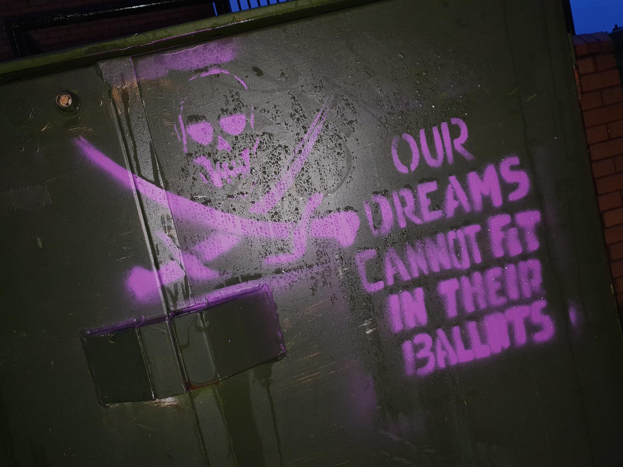 Graffiti, Cardiff