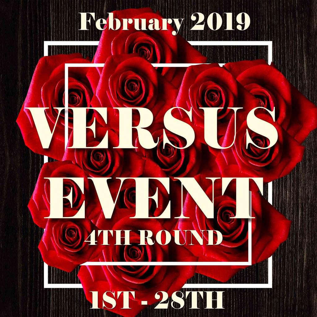++VERSUS EVENT FEBRUARY OPEN 12H PM++
