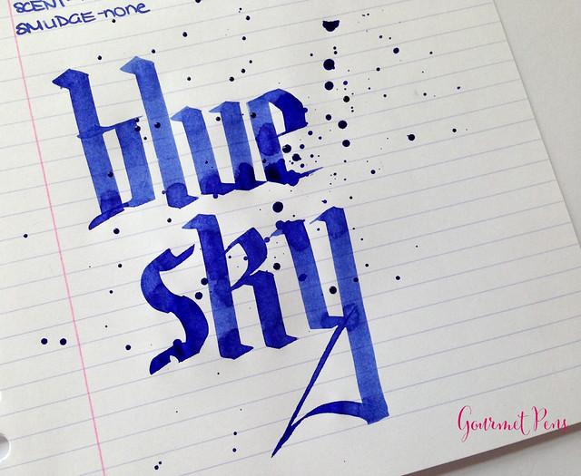 Caran d'Ache Blue Sky Ink 6
