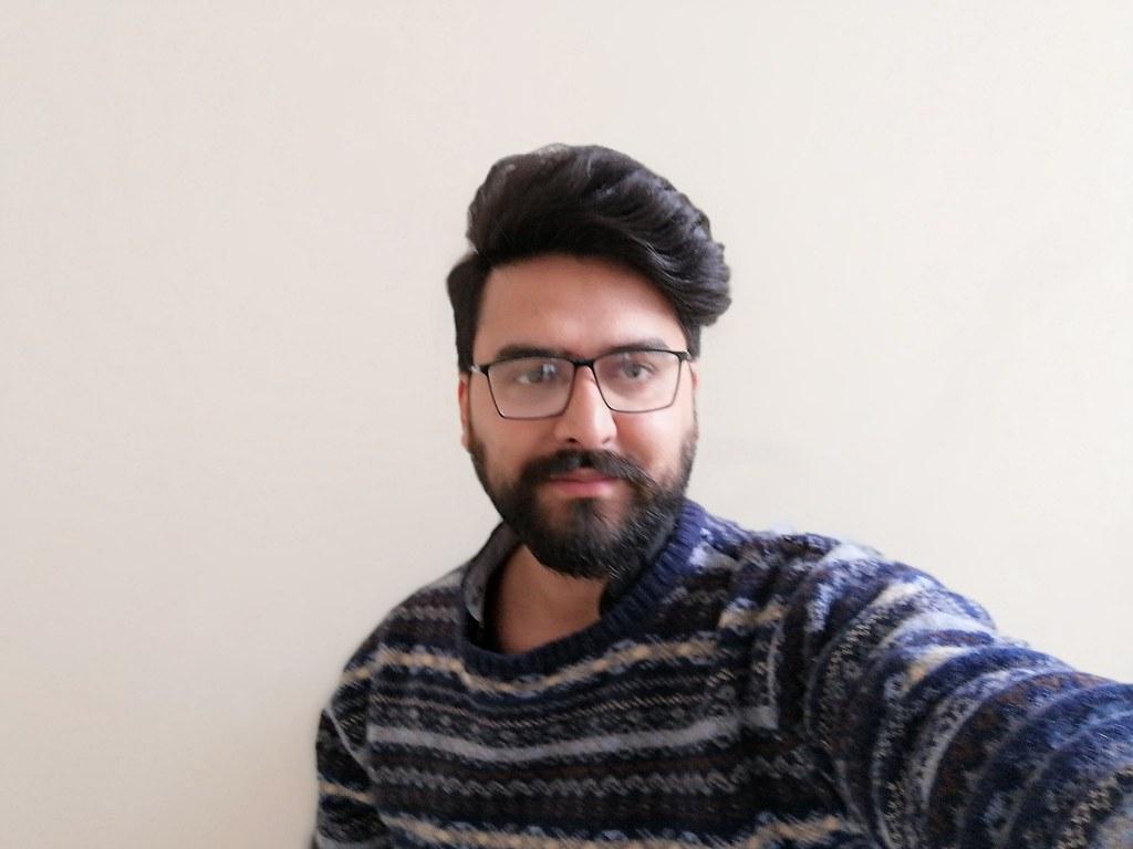 Selfie with Honor 10 lite