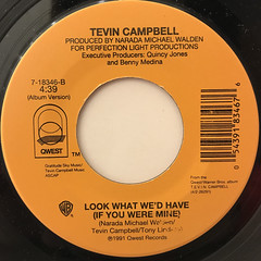 TEVIN CAMPBELL:CAN WE TALK(LABEL SIDE-B)