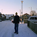 Stephen in the Snow