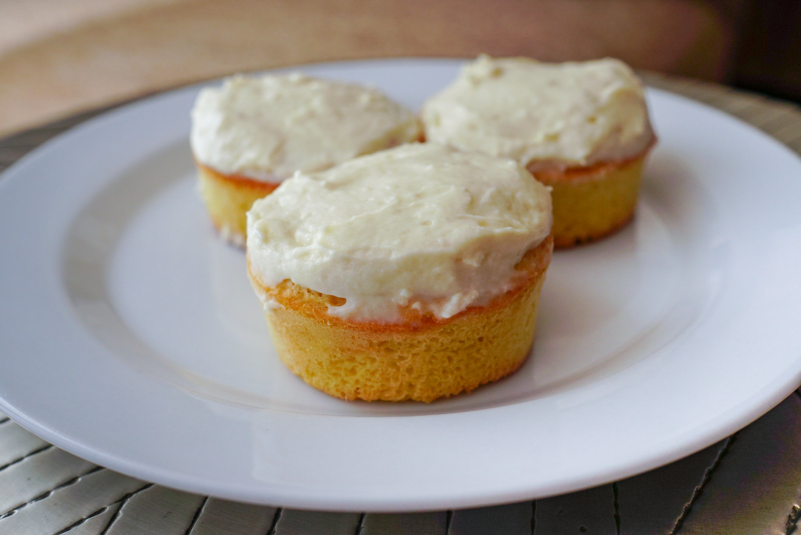 Recipe: Low Carbohydrate Banana Bread Muffins with Cream Cheese Frosting