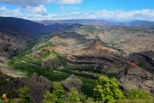 waimea hawaii unitedstates kauai etbtsy canyon valley river lush farm field farmland humanity nature combination symbiosis subtle landscape photography danielnovakphoto outdoors cliffs scenic view beautiful light clouds travel vacation destination island paradise