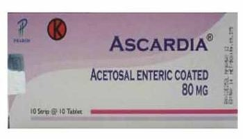 ASCARDIA TABLET 160 MG