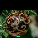 Christmas Ornament Perspective Effect 001