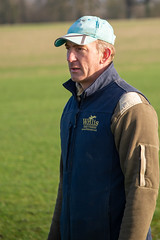 James Willis from the Willis Bros, cross country course builders