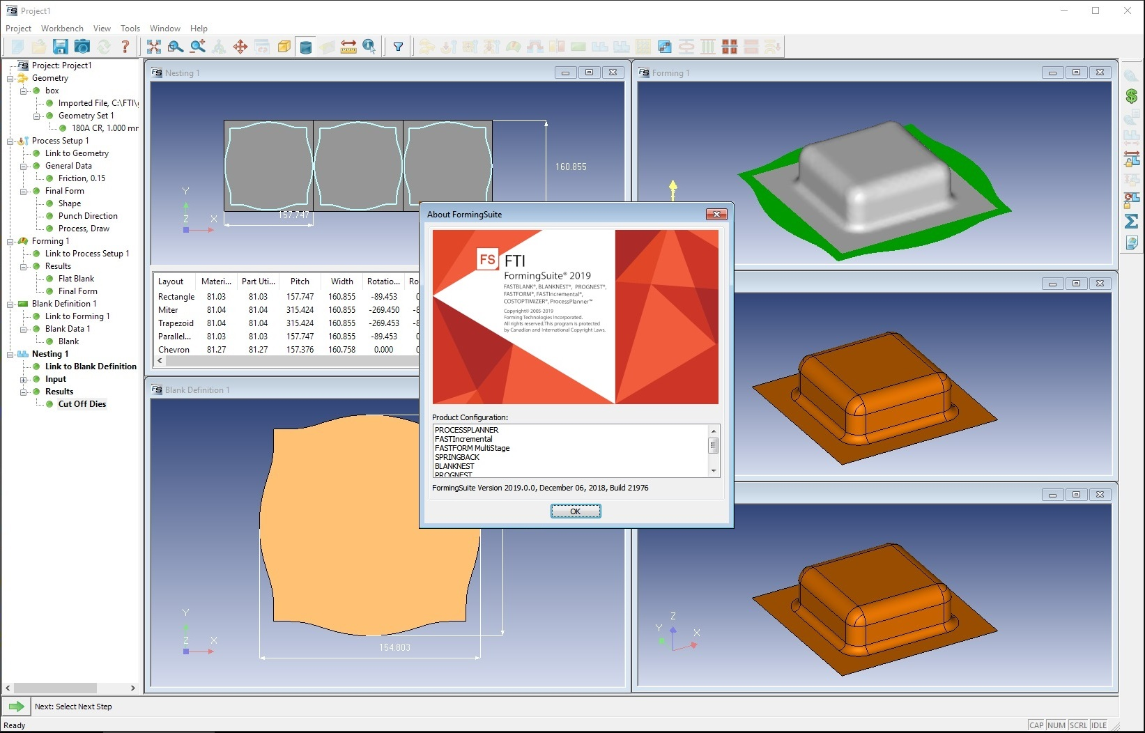 Working with FTI FormingSuite 2019.0.0 Build 21976.6 full