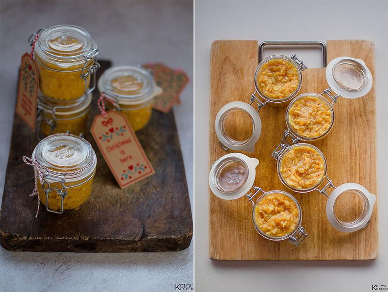 Composta di arance, cannella e chiodi di garofano