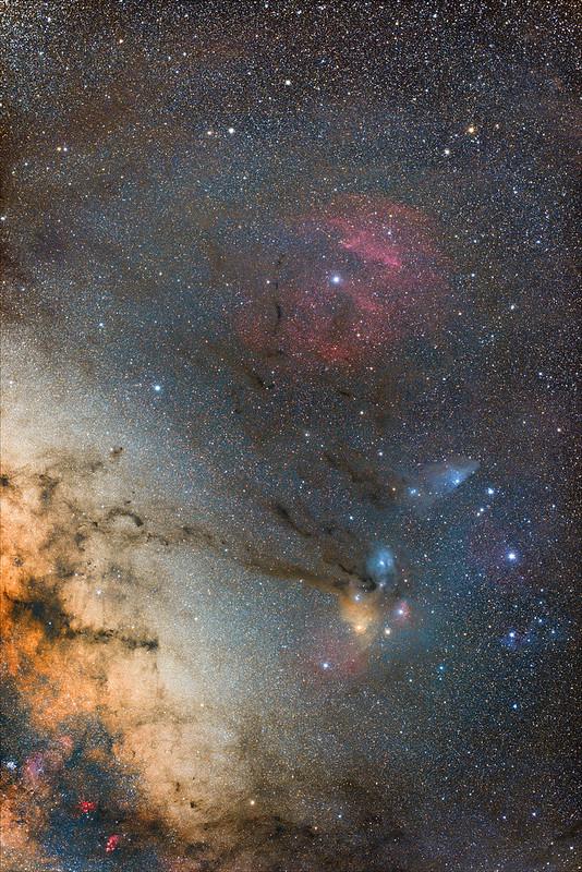 Near Antares