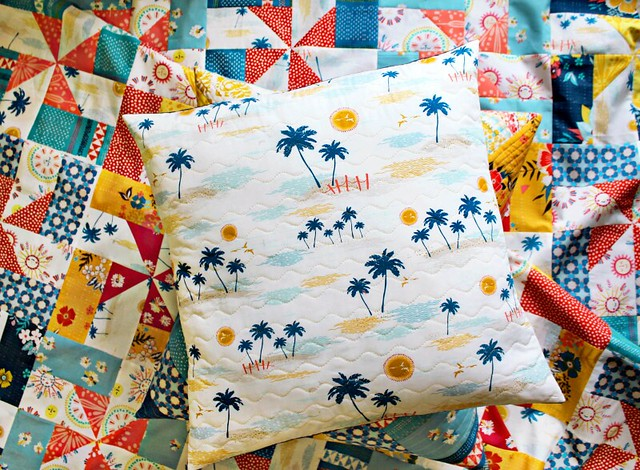 Palm Island Floor Pillow