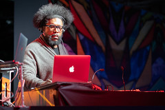 Questlove at the Intel House