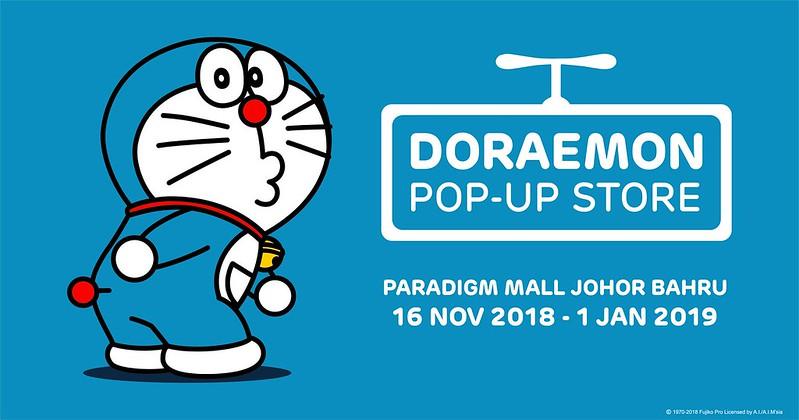 Doraemon Pop Up Store