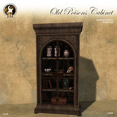 F&M * Old Poisons Cabinet - Madpea Rest Hunt gift