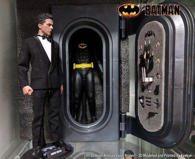 1/6 Scale 89 Batman Armory Custom (3D Print) 45155291145_5baf6fe5ce_z