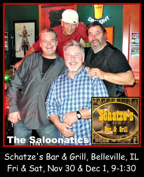 The Saloonatics 11-30, 12-1-18