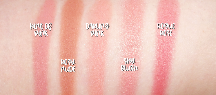 mary kay chromafusion blush swatches (1)