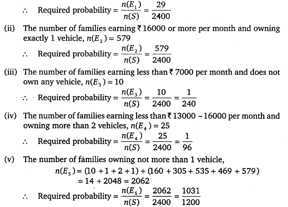 NCERT Solutions for Class 9 Maths Chapter 15 probability 3