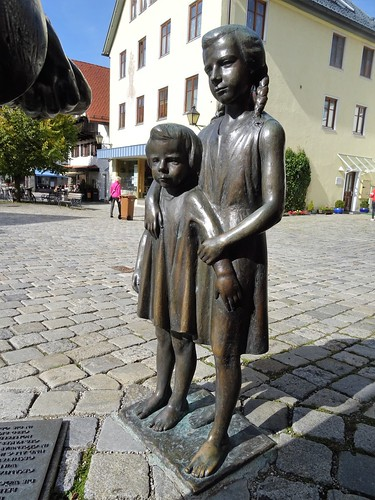 Immenstadt, Bavaria, state of Germany (the art of public places of Immenstadt), Klosterplatz