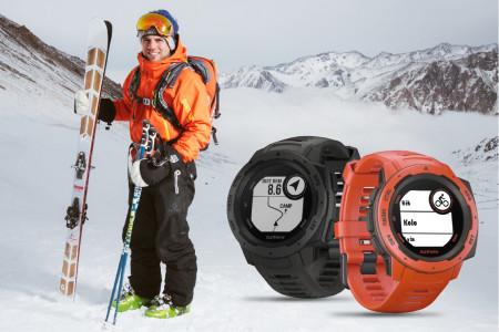 Lyžařské hodinky Instinct nejsou pro fajnovky