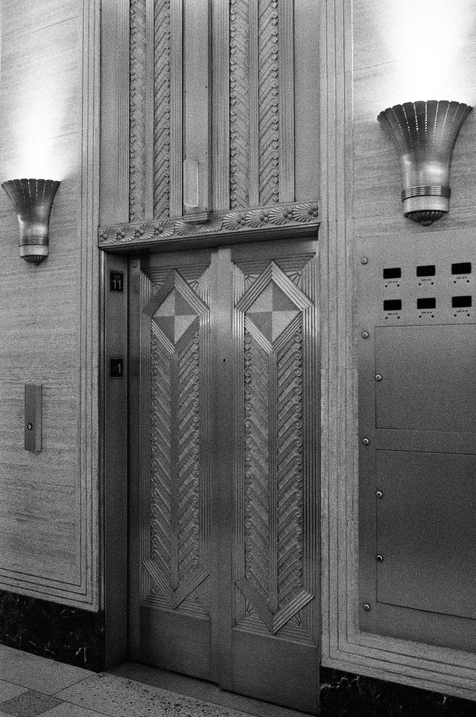Elevators in the Merchandise Mart