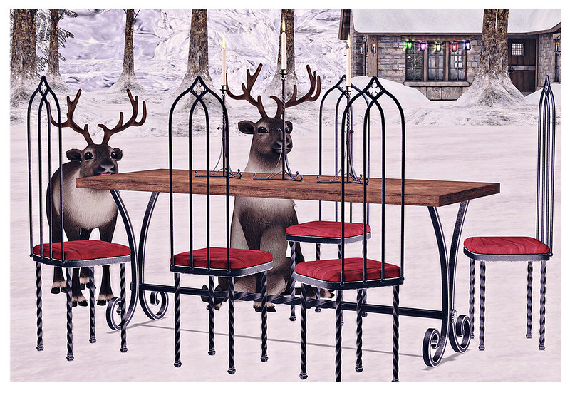 Reindeer Dinner Party