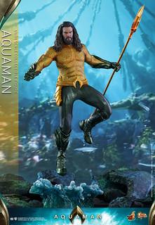 深海的保衛者!! Hot Toys – MMS518 –《水行俠》水行俠 Aquaman 1/6 比例人偶作品