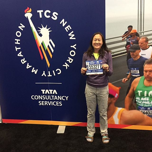 Ready or not, this is happening! #shirleyruns #tcsnycmarathon #26point2