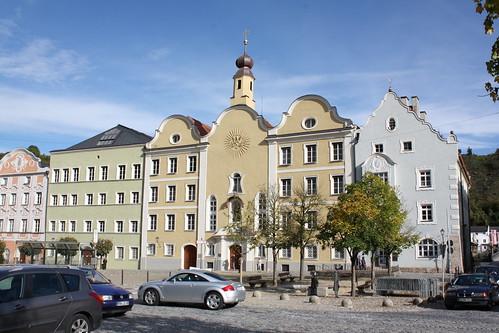 Burghausen: Institut der Englischen Fräulein, heute Maria-Ward-Realschule