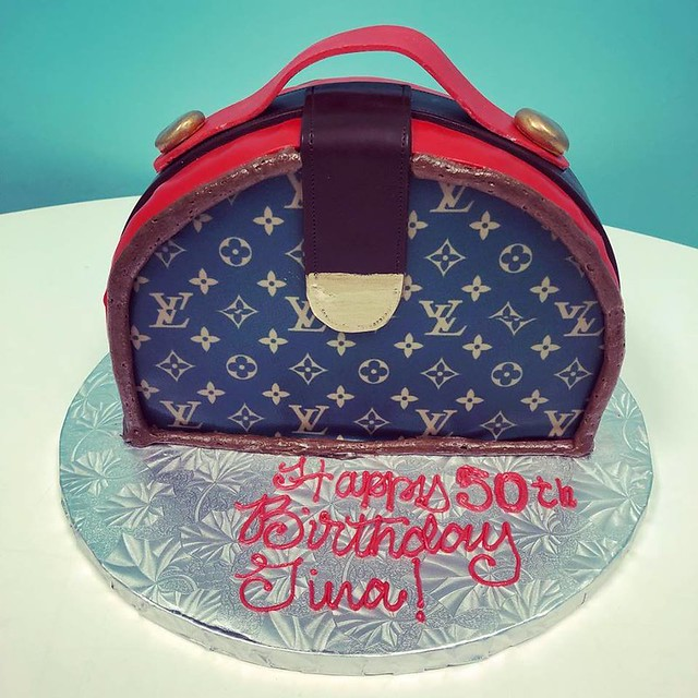 Couture Purse Cake by Carousel Cakes