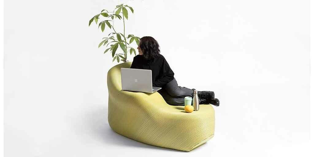Un mobilier imprimé en 3D à partir de déchets en plastique