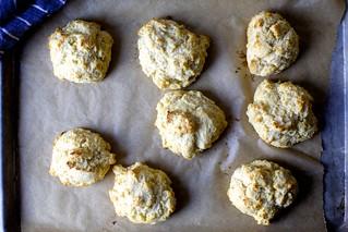 把玉米面包饼干