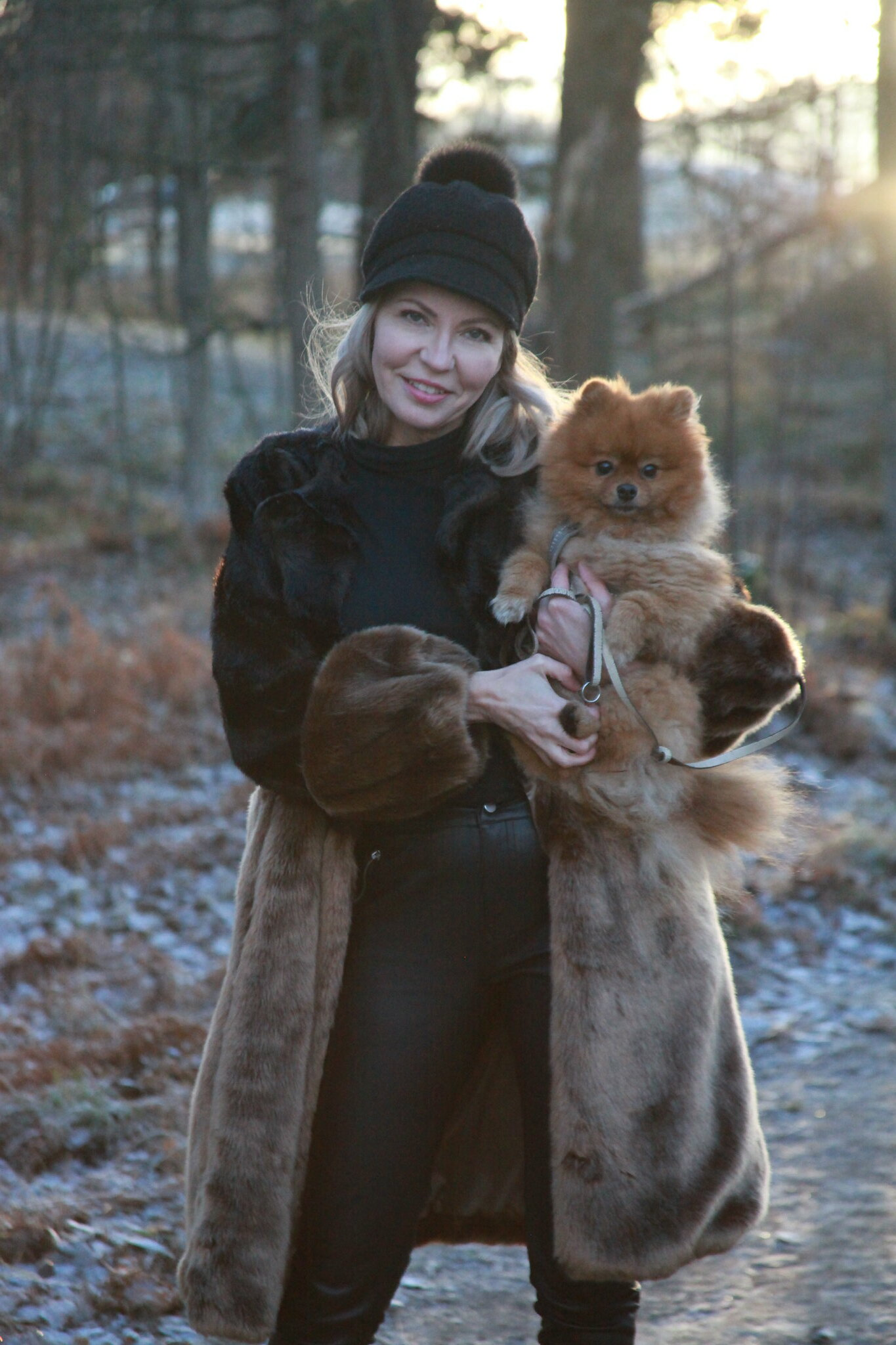 Sand Copenhagen, FAKE MINK MIX JADE COAT, Business Woman