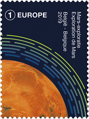 06 Belgie in de ruimte zegelB