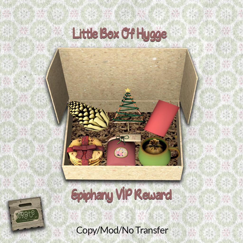 crate's Epiphany VIP Reward *-*