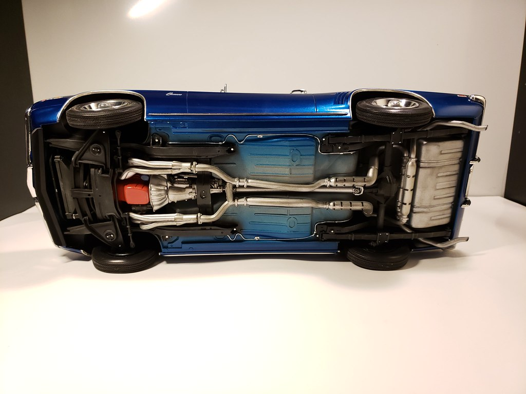 1/12 scale revell 69 camaro z28.