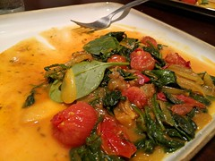 Indian-Spiced Spinach with Tomatoes and Dill