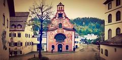 Füssen  (Bayern, D) – Die Heilig-Geist Spitalkirche