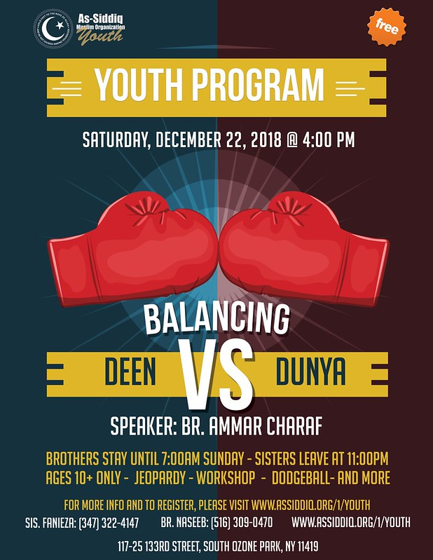 Youth Program Dec 22