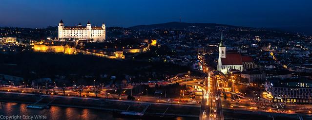 Bratislava The Blue Hour