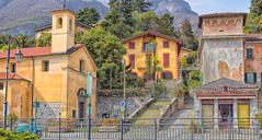 St. Bartholomew's Church and Butcher Shop, Tremezzo, Lake Como