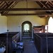 004-20180927_Little Washbourne Church-Gloucestershire-view down Nave from W end to Chancel Arch and Chancel at E end of Church