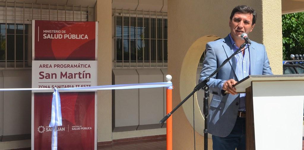 2018-01-03 SALUD: Inauguración Consultorios Externos Hospital de San Martín