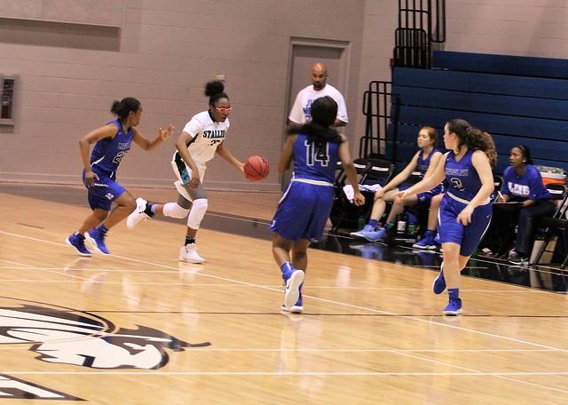 2018 Girls Varsity Basketball vs. Maclay