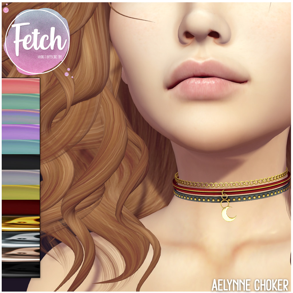 [Fetch] Aelynne Choker @ Fifty Linden Friday! - TeleportHub.com Live!