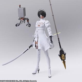 《劍魂6》合作的黑肉2P色!BRING ARTS《NieR:Automata 尼爾:自動人形》 2B(寄葉二號B型)Version 2.0 2P Color Version 可動人偶