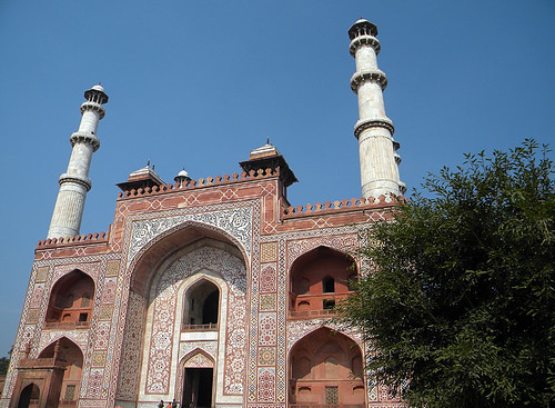Akbar's Mausoleum in Agra, India