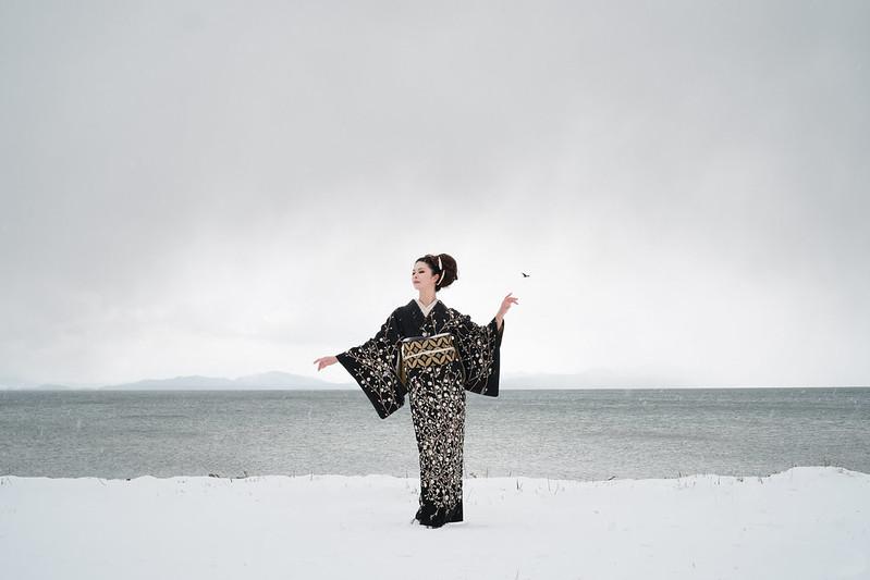Lake Biwa, Winter